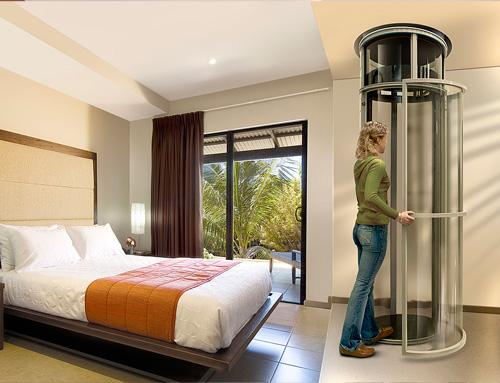 Instalación de ascensor panorámico